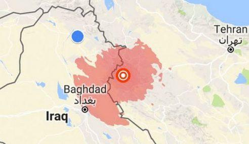 Gempa Bumi Kuat Di Barat Iran
