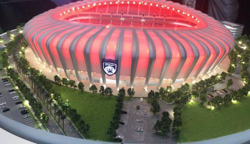 JDT Kecilkan Kapasiti Stadium Baharu
