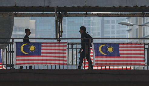 Zahir Rasa 'Sayangi Malaysiaku', Kibar Jalur Gemilang