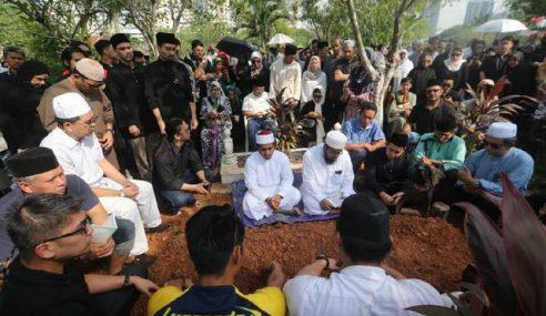Jenazah Mahadzir Lokman Selamat Dikebumikan