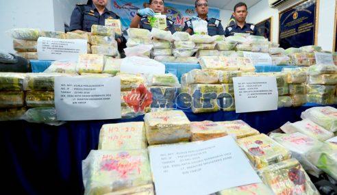 Maritim Malaysia Lupus Dadah Seberat 864kg