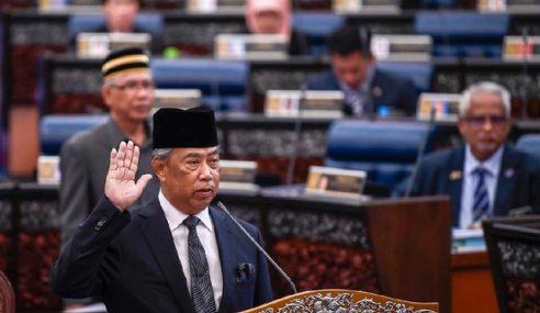 Muhyiddin Angkat Sumpah Anggota Parlimen Pagoh