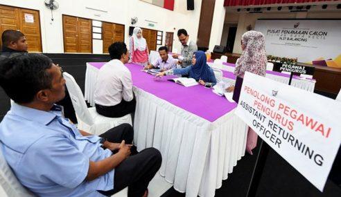 Proses Pencalonan PRK Balakong, Seri Setia Bermula 9 Pagi