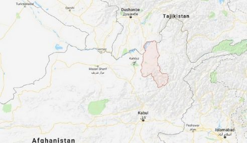 Rusia Nafi Jet Pejuang Bom Sempadan Afghanistan-Tajikistan