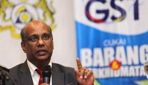 Tuntutan Balik GST Mula Dibayar Berperingkat