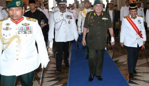 Sultan Johor Ingatkan ADUN Jaga Adab Ketika Berbahas