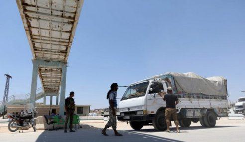 Pemberontak Syria Tahan 45 Individu