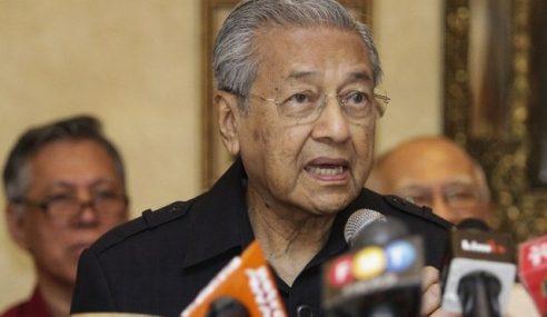 Mahathir Ucap Tahniah Kepada PM Pakistan Yang Baharu