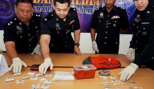 Polis Rampas Dadah Lebih RM12,000 Di Pendang