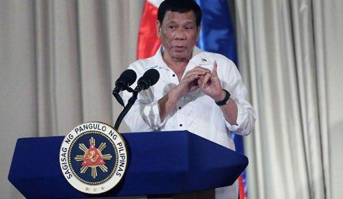 Duterte Tegur China Halau Kapal Asing