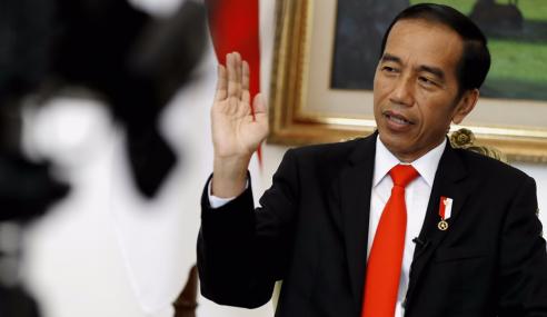 Jokowi Daftar Bertanding Pilihan Raya 2019
