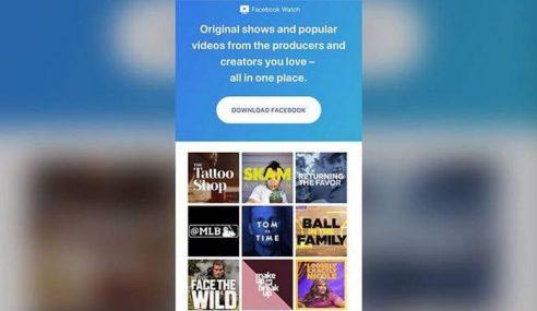 Facebook Lancar Khidmat Watch Ke Seluruh Dunia