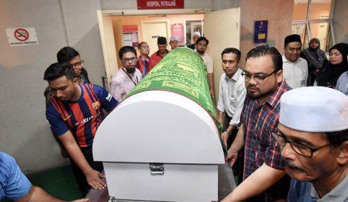 Jenazah Adun Seri Setia Dibawa Keluar Hospital Putrajaya