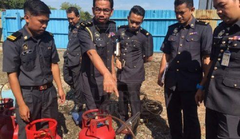 PPDNHEP Selangor Rampas 248 Tong Gas