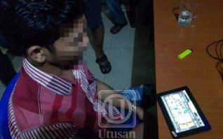 Kedai Judi Prabayar Ancam Remaja Kampung Di P.Pinang