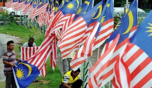Masyarakat Di Kota Kinabalu Diajak Kibar Jalur Gemilang