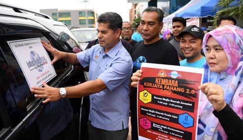 Kembara Kerjaya Pahang 2.0 Tawar Lebih 5,000 Pekerjaan