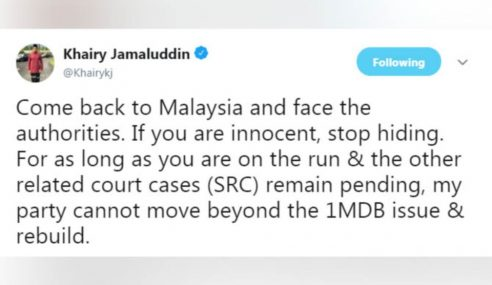 Jho Low: Kembali Ke Malaysia, Berdepan Pihak Berkuasa – KJ