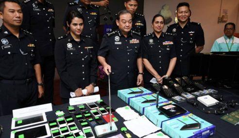 Polis Selangor Tumpaskan 2 Sindiket Macau Scam