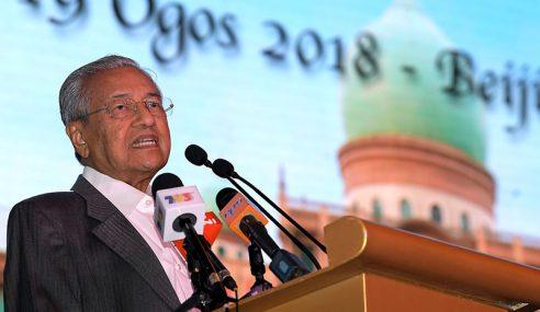 Tiada Perubahan Dasar Terhadap China – Dr Mahathir