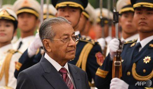 Mahathir Kini Mahu China Bantu Ekonomi Malaysia