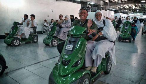 Skuter Percuma Bantu Jemaah Uzur Di Makkah