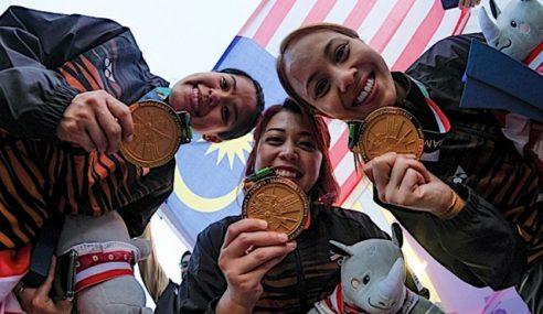 Malaysia Akhiri Kemarau Pingat Emas Sukan Asia 2018