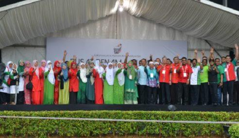 'Asalkan Bukan Harapan' Slogan UMNO-PAS