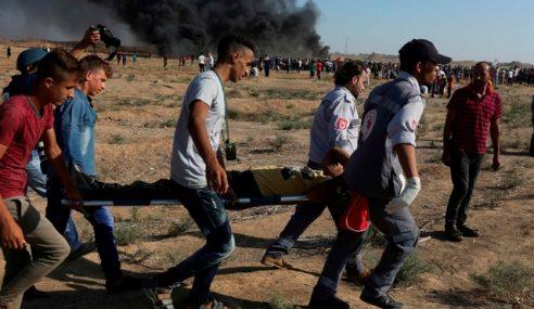 2 Maut, 270 Cedera Ditembak Zionis