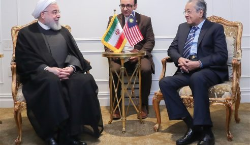 Selepas Jauhi Saudi, Malaysia Tingkat Kerjasama Dengan Iran