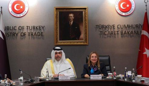 Turki Dan Qatar Tandatangan Perjanjian Perdagangan
