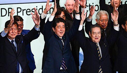 Abe Kekalkan Jawatan PM Jepun