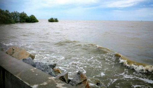 Air Pasang Besar: Keadaan Pantai Di Selangor Terkawal