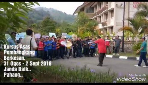 Kursus Belajar Demo Bukti Iltizam Umno Nak Lawan HARAPAN