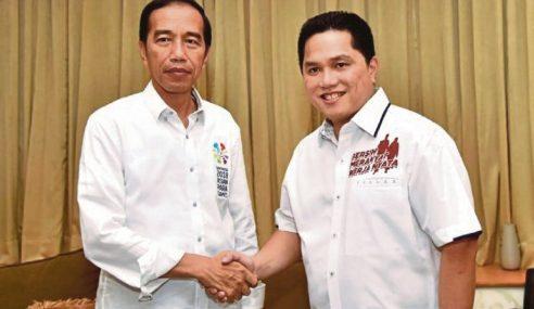 Jokowi Pilih Erick Thohir
