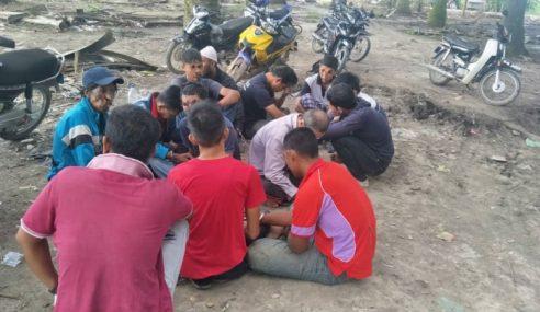 19 Individu Lalok Dadah Diberkas Dalam Kebun Kelapa Sawit