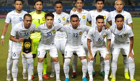 Malaysia Tewas 0-2 Berdepan Taiwan Pada Aksi Persahabatan