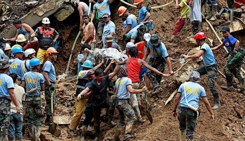 11 Mayat Ditemui Runtuhan Tanah Di Utara Filipina