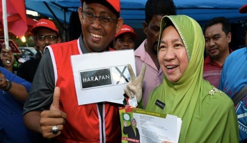 PRK Seri Setia : Pengundi Pilih Parti Atau Calon