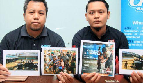 NGO Mahu Bekal Air Bersih Untuk Pelarian Rohingya