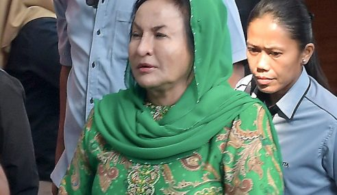 Rosmah Beri Keterangan Hampir 13 Jam