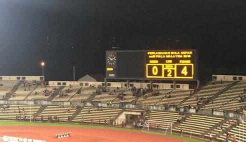 Sabah Tewas 0-4 Kepada Pahang Di Laman Sendiri