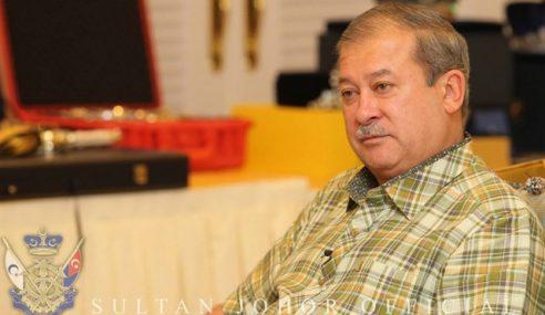 Sultan Ibrahim Mahu Kerajaan Johor Pantau Pusat Tahfiz