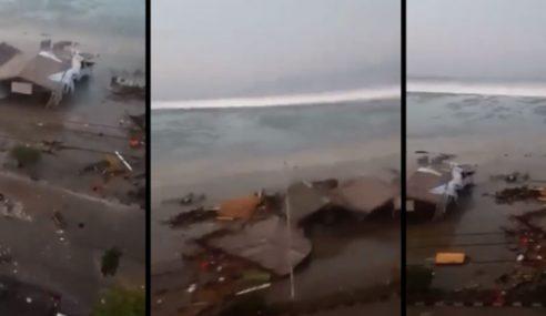 Gempa 7.7 Skala Richter Cetus Tsunami Di Sulawesi