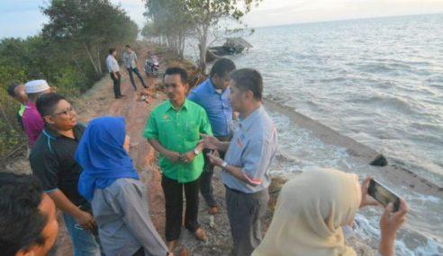 Air Pasang Besar, Keadaan Pantai Di Selangor Terkawal