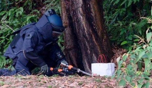 Polis Melaka Musnahkan Beg Kertas Mencurigakan