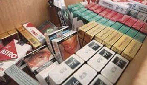 Penganggur Ditahan Bersama 240 Karton Rokok Seludup