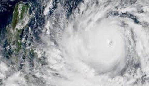 Taufan Mangkhut Tunggu Masa Badai Filipina