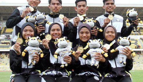 Kejayaan Berganda Kuartet 4X100M Terengganu