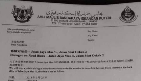 MB Johor Perlu Tanggungjawab
